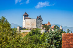 Vaduz castle view, Lichtenstein Royalty Free Stock Image