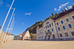 Vaduz city Stock Image