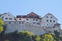 Vaduz kasztel Zdjęcie Royalty Free