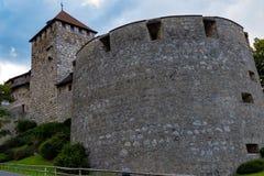 Vaduz kasztel, Liechtenstein obraz stock