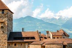 Vaduz kasztel w Liechtenstein Zdjęcia Stock
