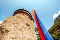 Vaduz kasztel w Liechtenstein Zdjęcie Stock