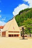 Vaduz kwadrat Liechtenstein Obrazy Royalty Free