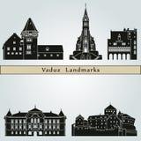 Vaduz Landmarks Royalty Free Stock Photo