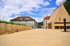 Vaduz Liechtenstein royaltyfria foton