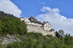 The Vaduz Castle in Liechtenstein royalty free stock image