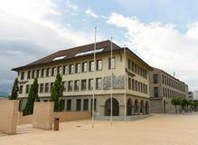 Vaduz, Liechtenstein, Czerwiec 02, 2016: Landesbank budynek w Vadu Fotografia Stock