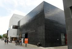 Vaduz Liechtenstein, Czerwiec, - 02, 2017: Sztuki piękna muzeum Kunstmuse Zdjęcia Royalty Free