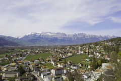 Vaduz of Liechtenstein Stock Photos