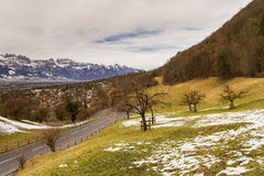 Vaduz, Liechtenstein. Royalty Free Stock Photography
