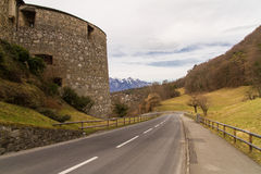 Vaduz, Liechtenstein. Royalty Free Stock Photo