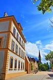 Vaduz punkty zwrotni Liechtenstein Zdjęcie Stock