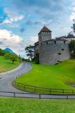 Vaduz-Schloss, Liechtenstein Stockfotos