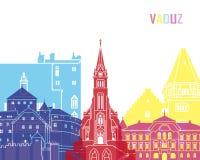 Vaduz skyline pop Stock Image
