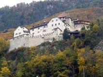 Vaduz slott Royaltyfri Fotografi