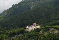 Vaduz slott Royaltyfri Bild