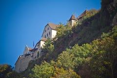 Vaduz slott Arkivfoto