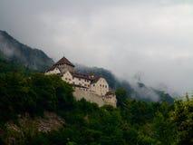 Vaduz slott i Liechtenstein Royaltyfri Bild