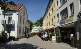 Vaduz  - town centre Stock Images