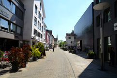 Vaduz  - town centre Royalty Free Stock Images