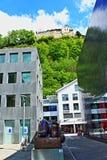 Vaduz view Liechtenstein Royalty Free Stock Photos