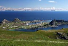 vaeroy的海岛 免版税库存照片