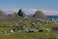 Vaeroy island Royalty Free Stock Image