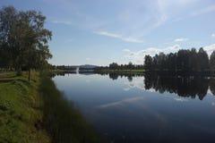 Vaesterdalaelven σε Malung Στοκ φωτογραφίες με δικαίωμα ελεύθερης χρήσης