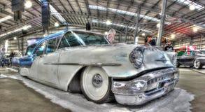 vagão da festa de Oldsmobile do americano dos anos 50 Fotografia de Stock