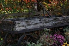 Vagão de madeira velho imagem de stock royalty free