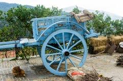 Vagão de madeira velho Fotos de Stock Royalty Free