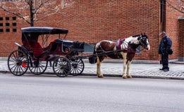 Vagão em Philadelphfia Fotografia de Stock