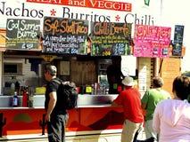 Vagão mexicano do alimento, Weymouth, Dorset Fotografia de Stock