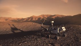 Vagabond de découverte de la NASA Mars illustration libre de droits