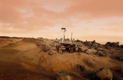 Vagabondo del Marte Fotografie Stock Libere da Diritti