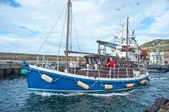 Vagabund, der zum Meer geht Lizenzfreies Stockfoto