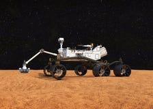 Vagabundo de Marte de la curiosidad Foto de archivo libre de regalías