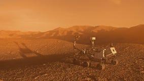 Vagabundo del descubrimiento de la NASA Marte ilustración del vector