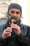 Vagabundo musiciant Fotografía de archivo libre de regalías