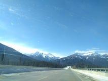 Vagando por alrededor de Banff, Alberta, Calgary en invierno imagen de archivo libre de regalías