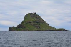 Vagar ö i Faroeen Island royaltyfri foto