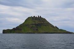 Vagar ö i Faroeen Island arkivbild