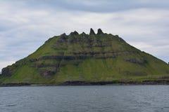 Vagar ö i Faroeen Island arkivbilder
