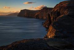 Vagar island coastline
