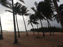Vagator海滩,果阿 库存图片