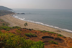 Vagator Beach in Goa Stock Photo