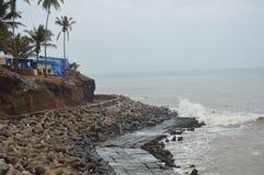 Vagator plaża, Goa fotografia stock