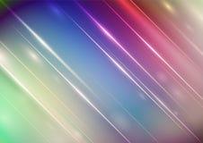 Vage abstracte kleurenachtergrond met verlichting stock illustratie