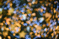 Vage achtergrond: Hart bokeh op vage achtergrond Stock Foto's