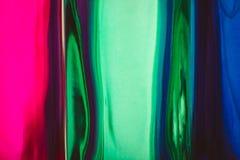 Vage achtergrond van gekleurd glas stock foto